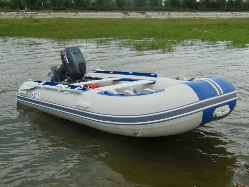2018 Fashion Boat Inflatable Small Rigid Inflatable Boat with Outboard Motor