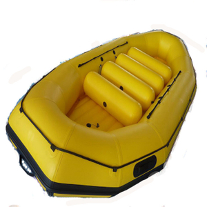 410cm Rafting Boat Inflatable Raft Rubber Fishing Boat For Sale