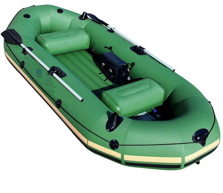 6 Person Whitewater River Floating Raft With Raft Drop Stitch Floor
